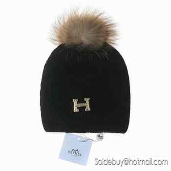 Moins Cher Bonnet Pompon Hermes,Confort Style Bonnet Pompon Hermes sur b94a7af369b